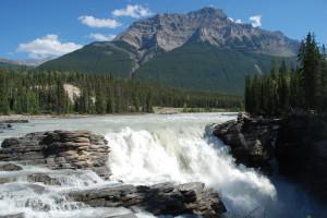 Athabasca Falls Beauty